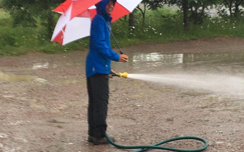 Embracing the Rain