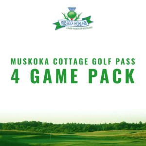Muskoka 4 Game Cottage Pass
