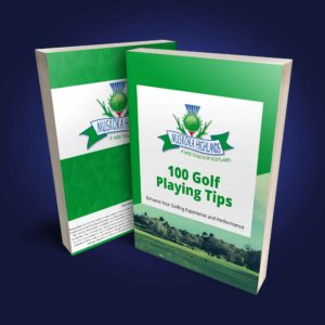 100 Golf Tips Muskoka Ebook Cover Blue Bg