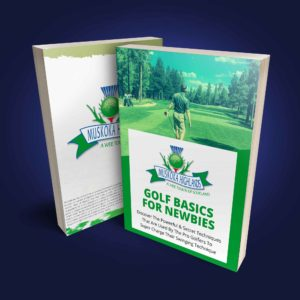 Golf Basics For Newbies Ebook Cover Blue Bg 2