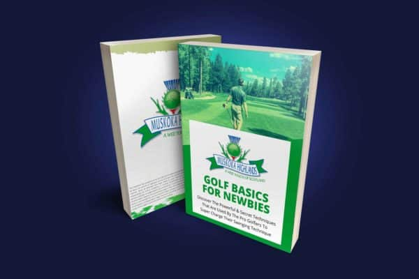 Golf Basics For Newbies Ebook Cover Blue Bg 2