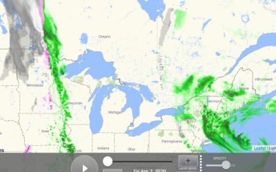 Rain to the West of Us, Rain to the East of Us…