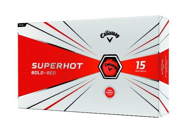 Superhot Golf Ball 2020 Bold Matte Red Packaging