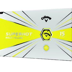 Superhot Golf Ball 2020 Bold Matte Yellow Packaging