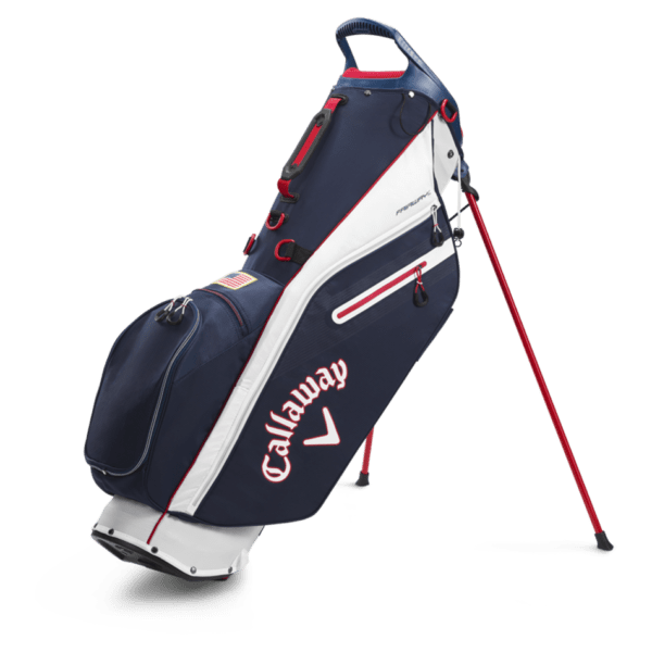 Bags 2020 Fairway C Single Strap Stand 18532 1navy Red Flag.png