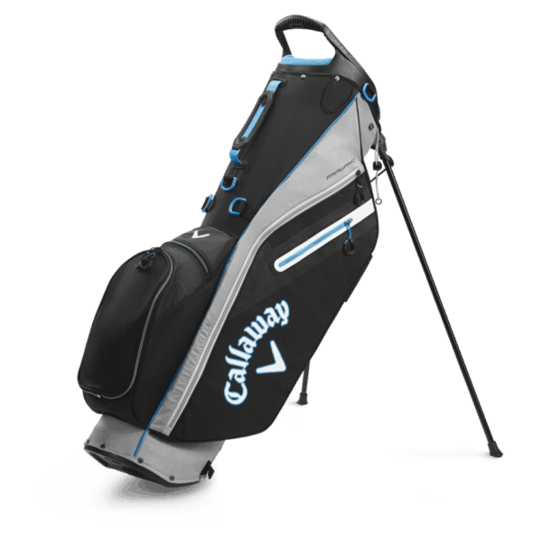 Bags 2020 Fairway C Single Strap Stand 8287 1silver Black.png