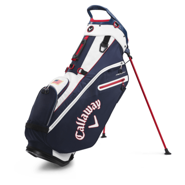 Bags 2020 Fairway Single Strap Stand 18532 1navy Red Flag.png