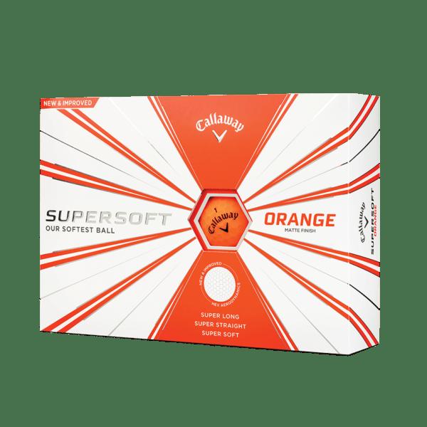 Balls 2019 Supersoft Matte Orange 501 1