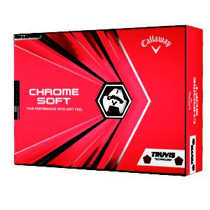 Chrome Soft Golf Ball 2020 Truvis Red Packaging