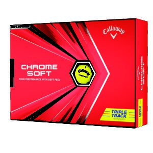 Chrome Soft Triple Track 2020 Yellow Packaging