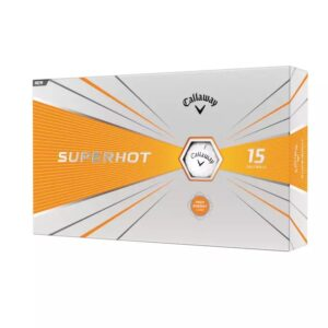 Superhot 20 Golf Balls 15 pack