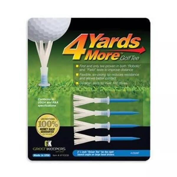 4 Inch Pack of Golf tees