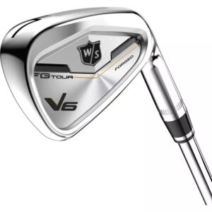Fg Tour V6 4 Pw Aw Iron Set With